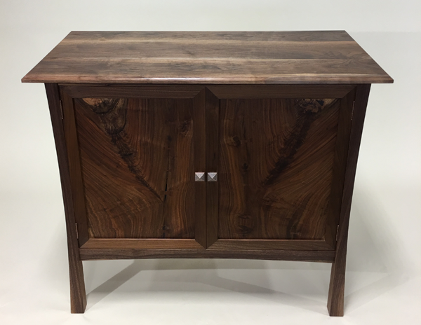 WaterWoods Custom Furniture Asian-inspired cabinet